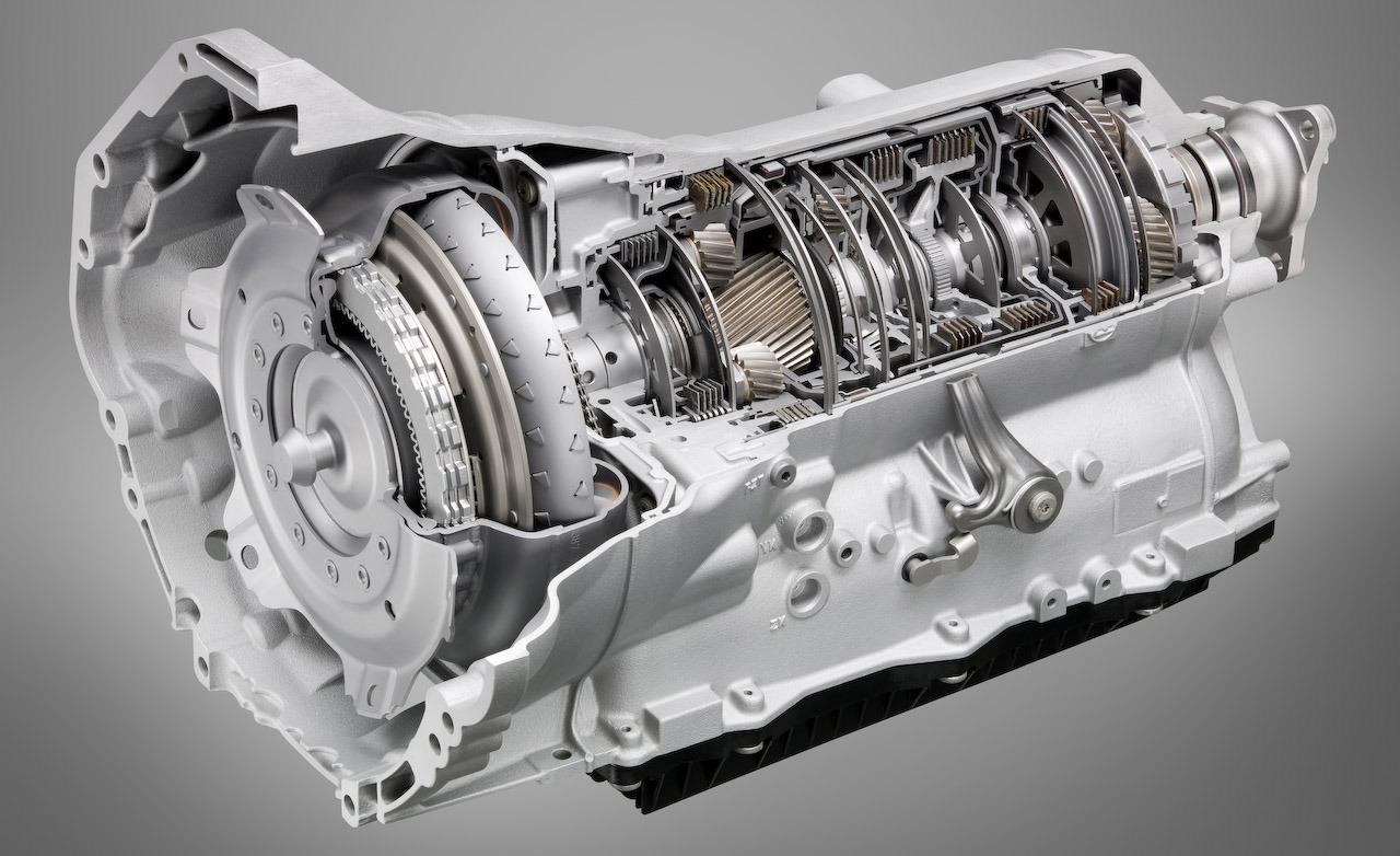 bmw zf 8 speed automatic transmission