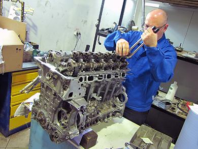 Капитальный ремонт двигателя BMW